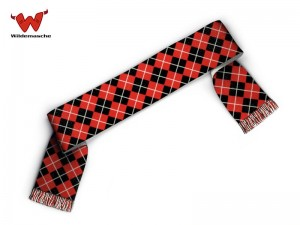 Football Scarf Argyle pattern
