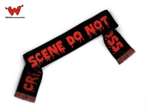 Advanced crime scene scarf