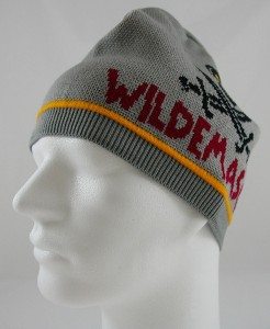 Beanie with contrast line