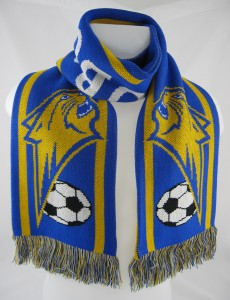 Football scarf - nice one!