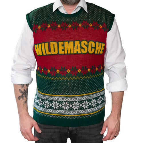custom christmas sweater vest
