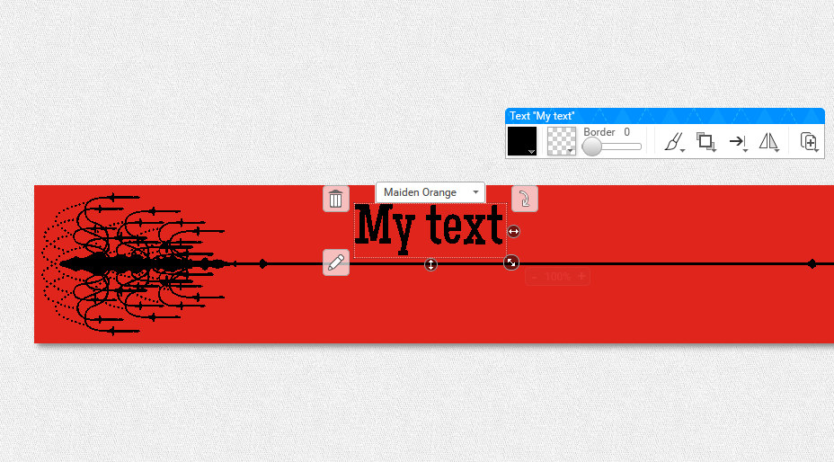 my book scarf text